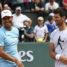 Strange not facing Rafael Nadal, says Novak Djokovic ahead of 10th Italian Open final