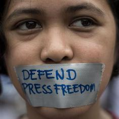 Chennai journalists condemn threats to freedom of press in Tamil Nadu from 'forces of hatred'