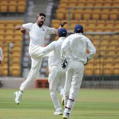 India A pick late wickets to reduce West Indies A to 243/5 on day one of second unofficial Test