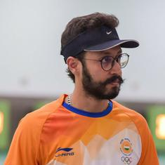 Shooting Nationals: Abhishek wins men's 10m air pistol trials, Vijayveer tops junior category
