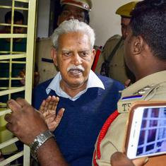 Karnataka Police take custody of activist Varavara Rao in 2005 Maoist attack case