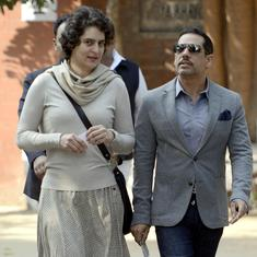 'Extremely disturbed': Robert Vadra criticises UP Police for allegedly shoving Priyanka Gandhi