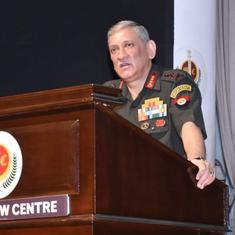 Chief of defence staff and 3 service chiefs to address media at 6 pm, Covid-19 may be in focus