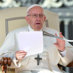 Having an abortion is like hiring a contract killer to solve a problem, says Pope Francis