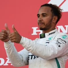 Formula one: Lewis Hamilton fires title warning after getting first glimpse of new Mercedes car