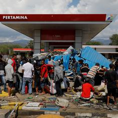 Indonesia: Toll after earthquake and tsunami rises to 1,347 even as survivors await aid