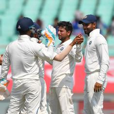 Kuldeep Yadav, R Ashwin shine as India thrash West Indies to record their biggest Test win
