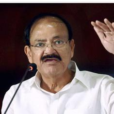Venkaiah Naidu pitches for simultaneous elections, says it will help avoid dilution of public work