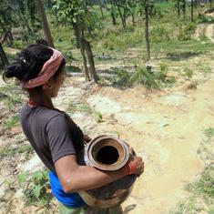 Climate change: An unusual dry spell in eastern Nepal worries farmers