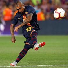 'He lacked respect': Barca's sporting director slams Vidal for social media criticism