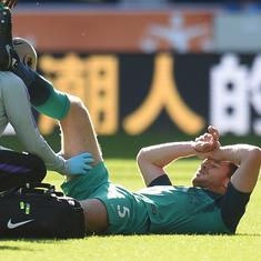 Tottenham in further trouble as Jan Vertonghen ruled out until December with hamstring injury