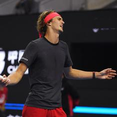 It's superstition more than sweat: Zverev complains of players using towels after every point