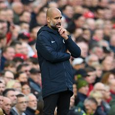 'Everybody does that': City manager Guardiola downplays Leeds boss Bielsa's spying tactics