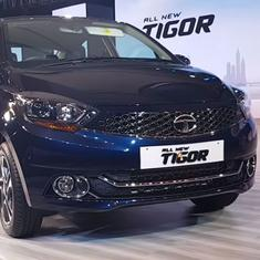 Tata Tigor facelift launched with several visual upgrades, starts at Rs5.20 lakh