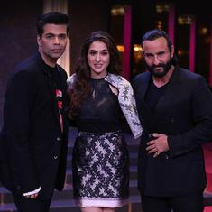 Saif Ali Khan and daughter Sara to appear in new 'Koffee with Karan' season